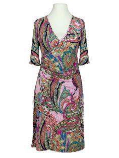 Damen Jerseykleid Print, multicolor von Tessuto Milano bei www.meinkleidchen.de