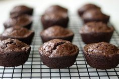 Simple instructions for converting a regular brownie recipe to cupcake brownies, plus tips on adding more flavor to boxed mixes.