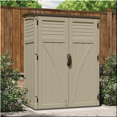 Outdoor Storage Shed Steel 6'x5' Garden Utility Tools Organizer Backyard Lawn  #OutdoorStorageShed