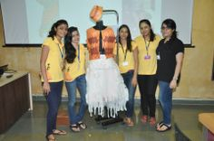 Another team of @Whistling Woods-Neeta Lulla School Of Fashion Students with the creation - a replica of #SumerianCostumes