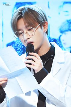 Monsta X Changkyun I.M cute.  he's so cute as a doctor