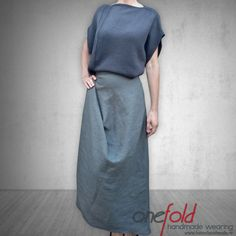 Pulover 'different kind of Tuesday' Different Kinds, Linen Skirt, Knitwear, Pullover, Bat Wings, Skirts, Sweaters, How To Wear, Fashion Design