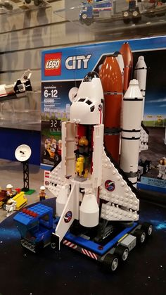 Lego Launching Awesome Spaceport Shuttle Sets In August Lego Space Station Best Lego Sets Lego Creations