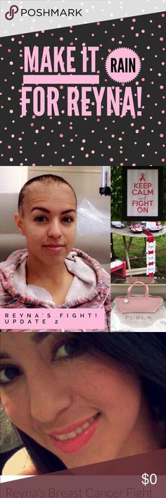 "🌺 Posh Fun & Help for Reyna! Read On!! 🌺 With only a few days left in October, let's have some big Posh-fun and ""Make it Rain for Reyna!"" 🌧⚡️💦 Watch daily for fun games and DEALS to benefit a sweet mom fighting breast cancer! 💝💪🏼💝 love on a hanger Other"