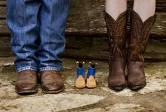 Sweetest baby announcement photo!!!