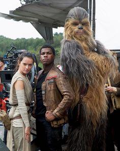 Star Wars Cast, Rey Star Wars, Daisy Ridley Star Wars, John Boyega, Star Wars Wallpaper, Star War 3, All Movies, Chewbacca, Star Wars Episodes