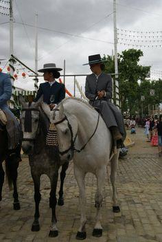 Amazonas a caballo Feria De Abril, Seville, 2009