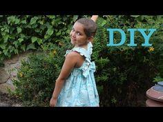 Vestido modelo Lucia en algodón, patrón para hacer un vestido de niña sencillo para el verano, vídeo tutorial.