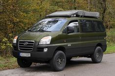 Hyundai 4x4, Mitsubishi Space, 4x4 Van, 4x4 Off Road, Campervan, Van Life, Motorhome, Cars And Motorcycles, Offroad