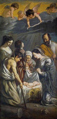 Antoine Le Nain: Adoración de los pastores, 1632.