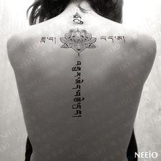 Neeio - Waterproof Temporary Tattoo (Flower)