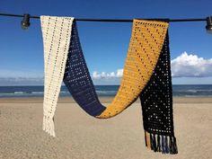 Double 4 vier steken sjaal
