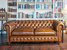 Chesterfield + books
