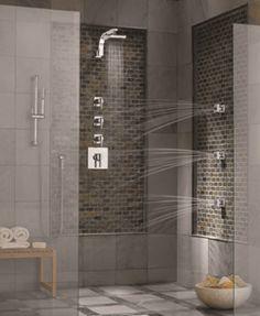 spa shower systems | Danze® custom spa shower system