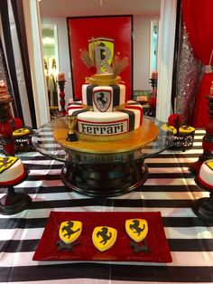 Ferrari Birthday Party Ideas | Photo 1 of 14 | Catch My Party