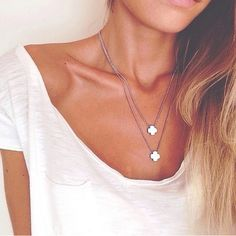 Adore the necklaces