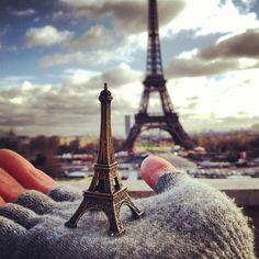 Paris na palma da mão
