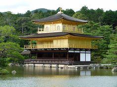 The Golden Pavillion, Kinkaku-ji, Kyoto