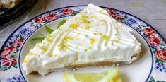 Φανταστικό λεμονογλυκό πολύ δροσερό γευστικό ελαφρύ και εύκολο Dairy, Cheese, Cake, Desserts, Food, Tailgate Desserts, Deserts, Kuchen, Essen