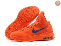 Orange Logo Bleu Nike Zoom KD V Creamsicle