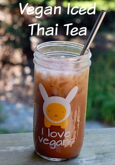Homemade Thai Tea Concentrate and a recipe to make your own vegan sweetened condensed coconut milk
