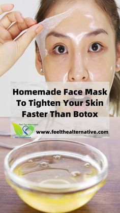 Here is a powerful Homemade Face Mask To Tighten Your Skin Faster Than Botox that you can start using today at home for beautiful skin. This facemask consists of only 3 natural ingredients which you may already have in your kitchen! Beauty Care, Beauty Skin, Face Mask Ingredients, Skin Care Remedies, Natural Remedies, Homemade Face Masks, Face Skin Care, Skin Tightening, Tips Belleza