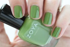 Zoya Island Fun Summer 2015 Swatch Jace Green Cream