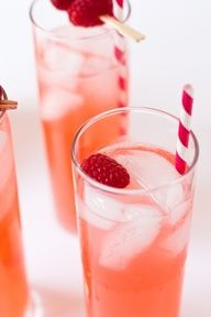 A yummy and refreshing drink for the hot summer days Raspberry Lemonade