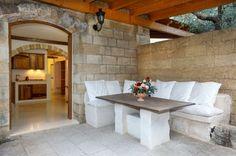 aménagement de mobilier en pierre
