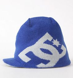 DC Shoes Cascata Visor Beanie...I'd like it better in Red or Green
