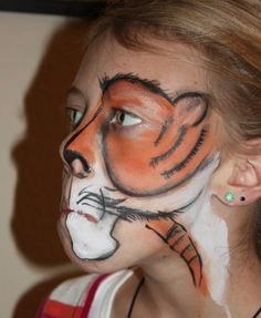 Face Painting for kids!  These are COOL!