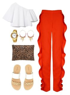 """""""Untitled #278"""" by stardust ❤ liked on Polyvore featuring Soludos, Clare V., Cartier, Rebecca Minkoff and espadrilles"""