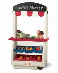 """Little Tikes toys are a staple in lots of playrooms and outdoor toy collections, and the toy company is focusing on sharing toys that encourage kids to """"Get Up and Play!"""" An awesome toy for this holiday season that really gets kids playing and using their imaginations is the Neighborhood Market."""