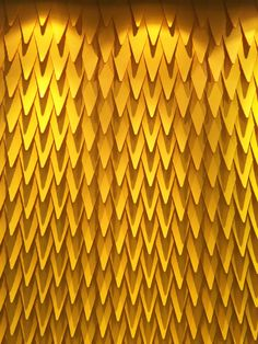 Keiou Design Lab makes really cool, 3D wall surface designs, like ALAR, these pointed, waterproof tiles that can be painted in any color.