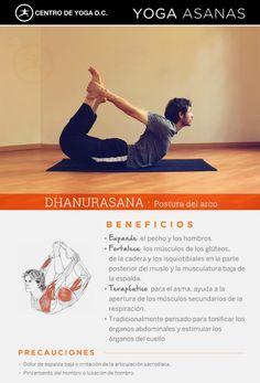 Beneficios de la práctica de Yoga · DHANURASANA | Postura del arco por Diego Cano