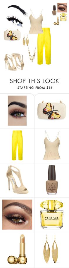 """""""Relaxed"""" by blaqphire on Polyvore featuring Franchi, Sofie D'hoore, Gucci, Jimmy Choo, OPI, Versace, Christian Dior, Kenneth Jay Lane and Kenneth Cole"""