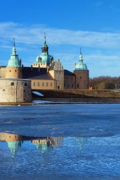 Kalmar Castle, Sweden - Kalmar is a city in Småland in the South-East of Sweden, situated by the Baltic Sea.