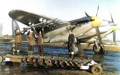 De Havilland Mosquito FB VI - fighter-bomber, anti-shipping.