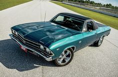 Photo Gallery - 1969 Chevrolet El Camino - Rollin' On Chrome - Automobile