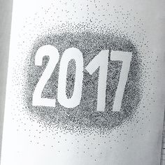 Bullet journal yearly closing page, bullet journal yearly cover page, dotted art. | @cr.wlng