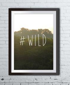 Plakat WILD A4