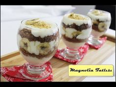 YouTube Panna Cotta, Pudding, Make It Yourself, Desserts, Food, Cakes, Youtube, Christmas Dinners, Deserts