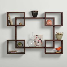 The newest catalog of corner wall shelves designs for modern home interior wall decoration latest trends in wooden wall shelf design as home interior decor trends in Indian houses Decor, Wall Bookshelves, Bookshelf Design, Contemporary Shelving, Living Room Shelves, Wooden Wall Shelves, Wall Shelves Living Room, Living Room Wall, Wall Shelves Bedroom