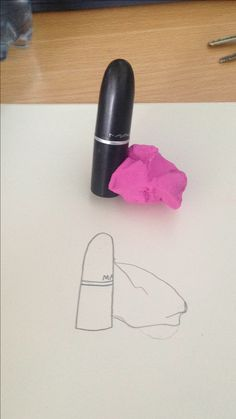 #art #sketch #mac #drawing #famous #black #pink #purple