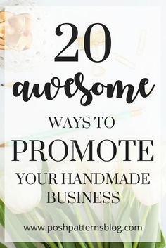 How to get more sales -- If you have a Madeit or Etsy shop or a handmade business, you want more customers! Take a look at these easy and awesome ways to promote your handmade business so you can get more sales! Business Advice, Business Planning, Business Management, Career Advice, Online Business, Craft Business, Creative Business, Business Cards, Business Marketing