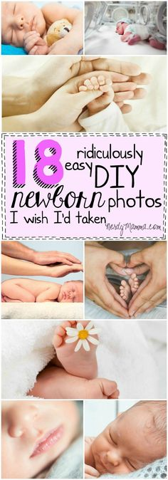 I love these easy ideas for taking baby photos at home! I wish I'd done every one of them, too!