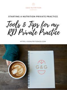 Tools and tips for starting a nutrition private practice. All of these posts chronicle my journey to starting my own nutrition private practice including whether to take insurance, discussing which virtual tools I like the best and why, and of course things I learned the hard way :)