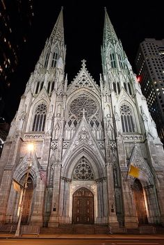 Front of St. Patrick's