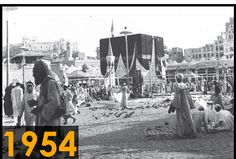 Foto kakbah tahun 1954 (Sumber: Saudi Gazette)