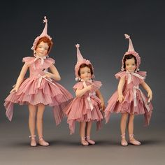 Going Over the Rainbow with R. John Wright Dolls.  The Lullaby League from the 'Wizard of Oz' by R. John Wright.